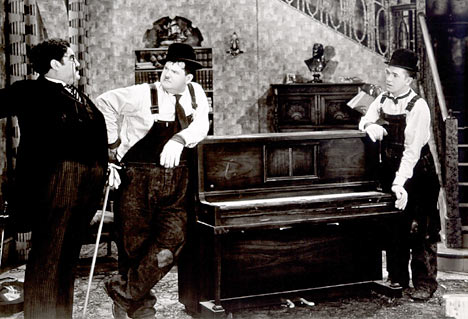 Laurel and Hardy Piano Movers