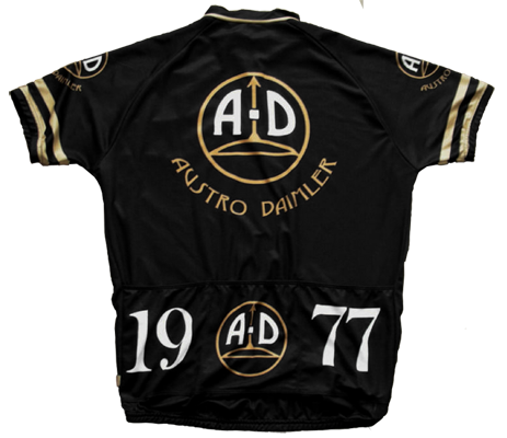 third party Austro-Daimler racing jersey 1977 rear