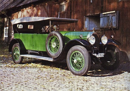 Austro Daimler Adm I on Puch Split Single Engine