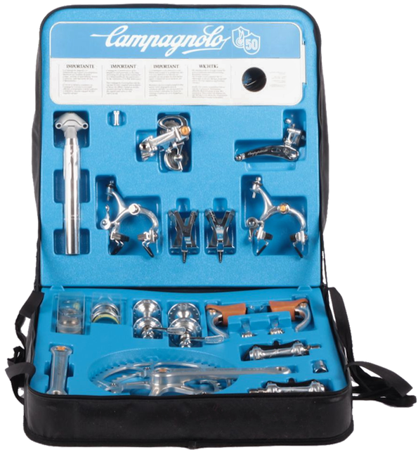 Campagnolo 50th Anniversary Group cased set (664,685 bytes)