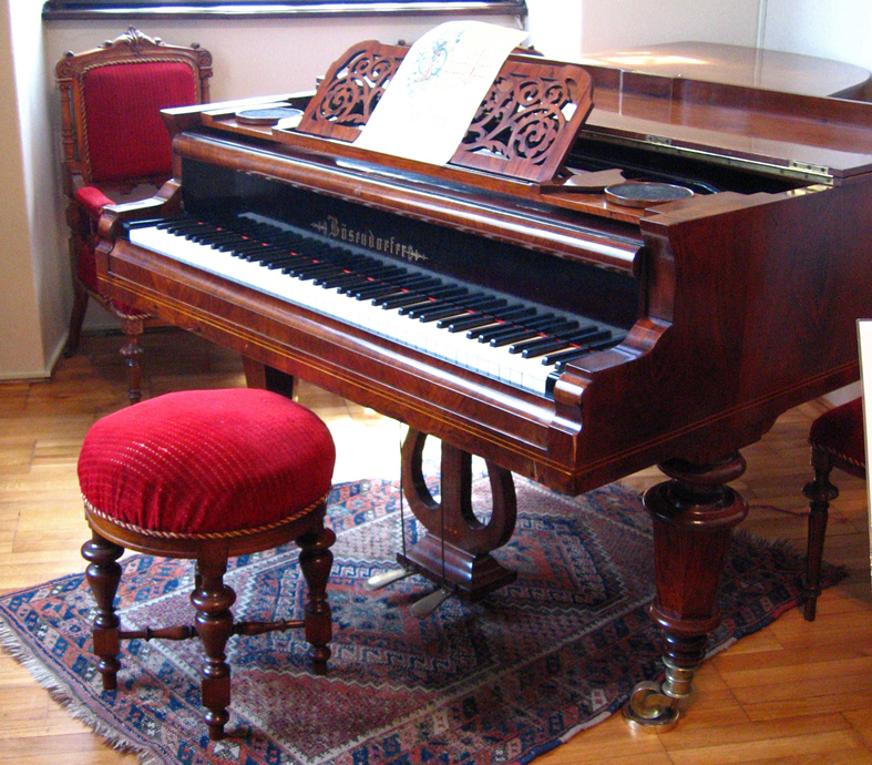 Antonin's piano