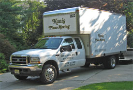 Kunis Piano Movers truck