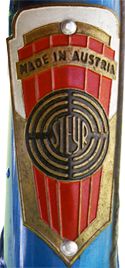 Steyr head badge