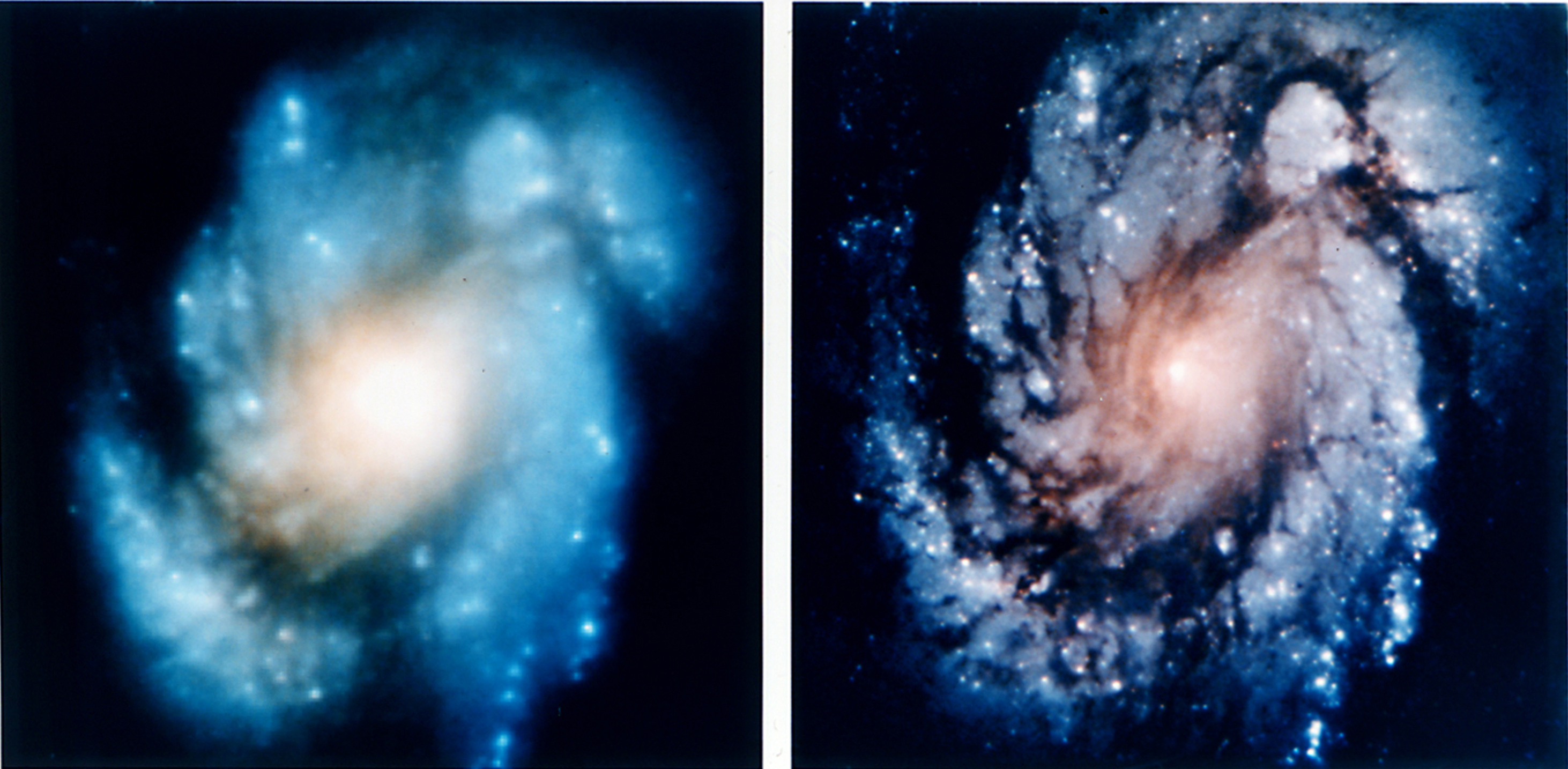 Hubble Space Telescope WF/PC and WFPC2 images (1,860,603 bytes)