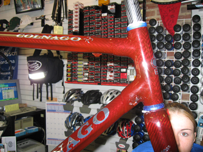 Colnago C-50 FLR with Flash Close