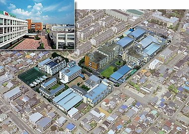 Fujinon headquarters in Japan (110,640 Bytes)