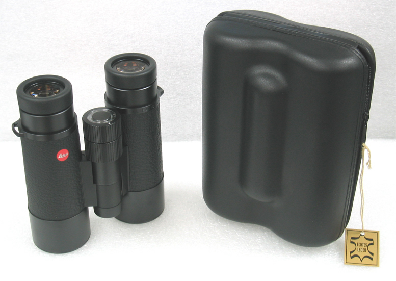 abe970e2d8 Above: Leica ULTRAVID 8x 42 BL binocular with provided hard shell case on  display at Company Seven. Click on image to see enlarged view