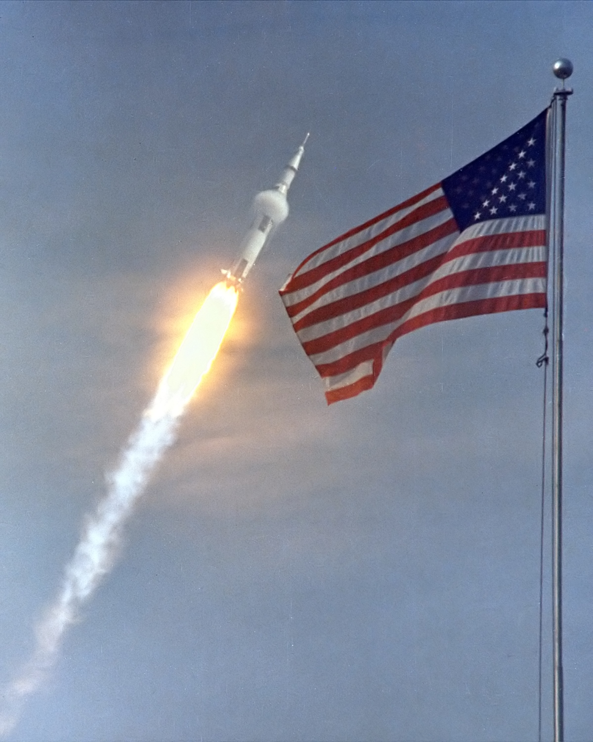 Apollo 11 Launch, NASA Image
