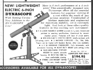 Criterion Dynascope RV-6 Telescope first Ad
