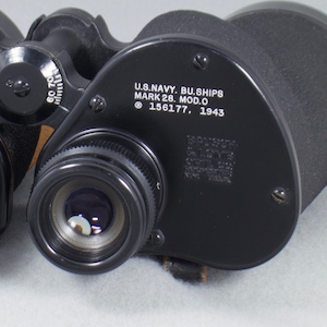 eyepiece end and prisms view of Mk 28 (38,515 bytes)