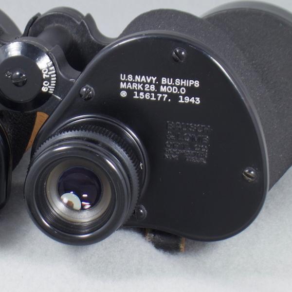 Company Seven | U S  Naval Gun Factory 9x 63 Binocular, U S  Navy BU