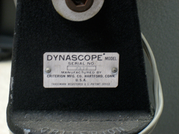 Criterion Dynascope RV-6 Telescope of 1962
