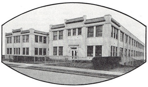 Kollsman Instrument factory, 8008 (later 80-08) 45th Avenue, Elmhurst, NY c. 1938 (95,392 bytes)