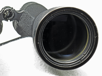 Mark 37 left 63mm objective lens in cell view