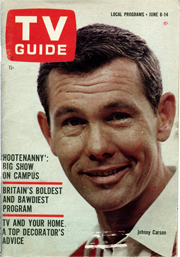 Johnny on TV Guide cover June 1963