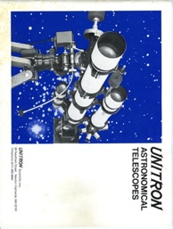 Unitron 1972 Telescope And Accessories Catalog (20,983 bytes)