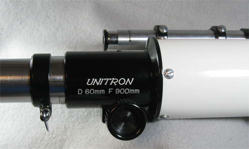 Unitron 60mm telescope, model 114 cased (65,488 bytes)