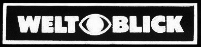 Weltblick 'Eye' logo sticker, as found on their telescopes focusers in Company Seven archives and exhibits (51,188 bytes)
