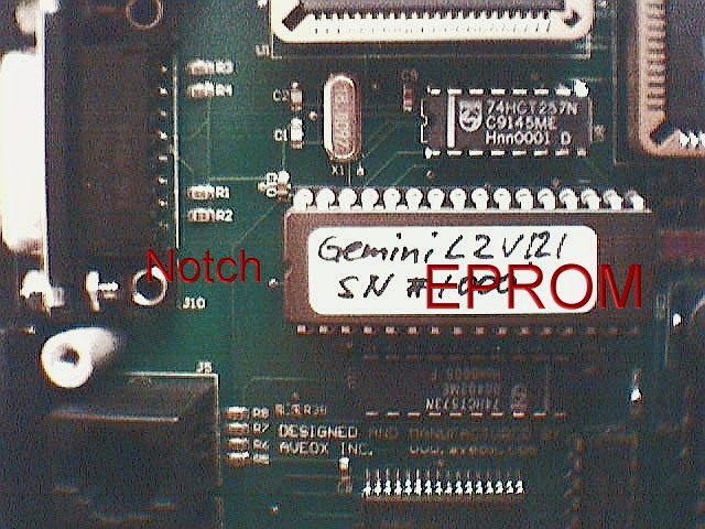 Gemini EPROM location (98,716 bytes)