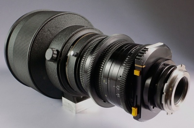 Nikkor 300mm F/2 ED IF Lens modified by Century at Company Seven (50,067 bytes)