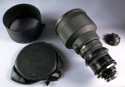Nikkor 300mm F/2 ED IF lens modified by Century at Company Seven (51,883 bytes)