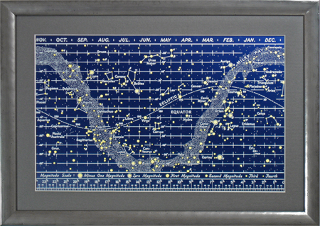 Questar 50th Anniversary Telescope Star Chart 185,386 bytes