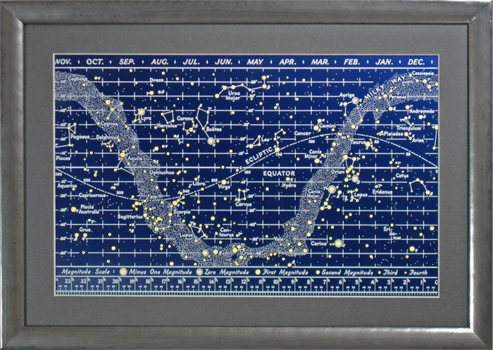 Questar 50th Anniversary Telescope Star Chart 426,639 bytes