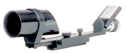 TeleVue Starbeam Sight front left view, showing Right Angle view Mirror (37,9017 bytes)