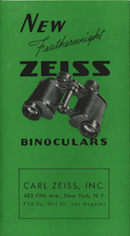 Orderly Carl Zeiss Prism Cameras & Photo Binocular Cases & Accessories