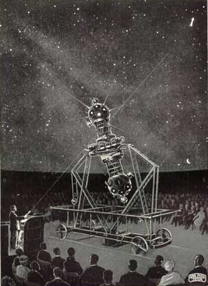 Zeiss Planetarium image from catalog